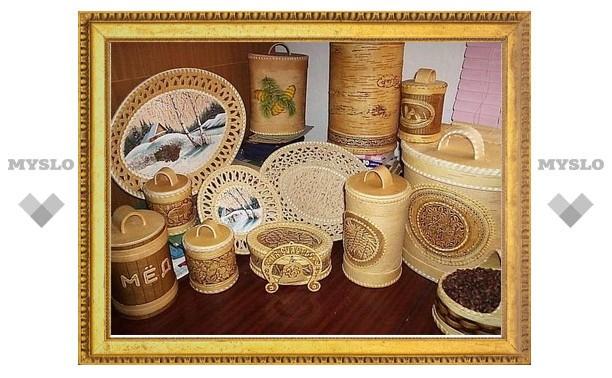 Тульским мастерам народных художественных промыслов выдали гранты