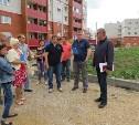 В Скуратово завершается благоустройство придомовых территорий новостроек