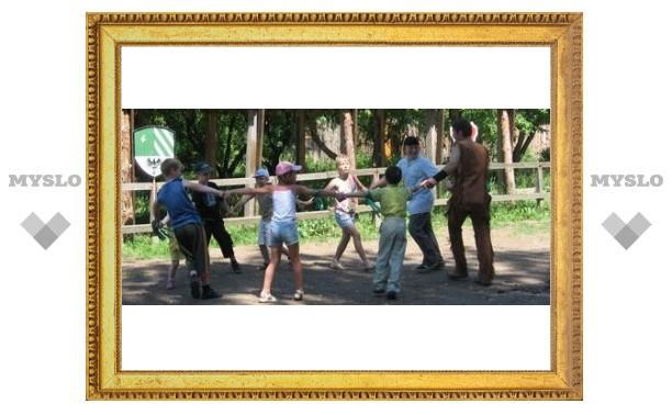 Юным тулякам устроили индейские забавы