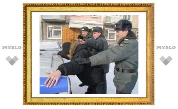 В Тульской области повязали уличных грабителей