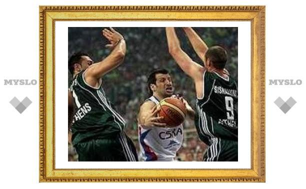 ЦСКА проиграл финал баскетбольной Евролиги