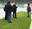 Комиссия РФПЛ осмотрела газон Центрального стадиона «Арсенал»