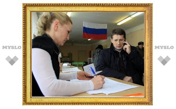 Евгений Авилов проголосовал на выборах Президента 2012