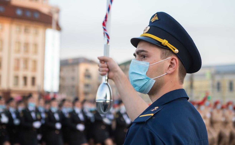 Репетиция военного парада в Туле: фоторепортаж