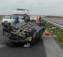 В аварии с «перевертышем» на М-4 «Дон» погиб мужчина