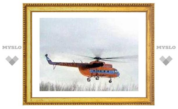 В Якутии совершил аварийную посадку вертолет Ми-8