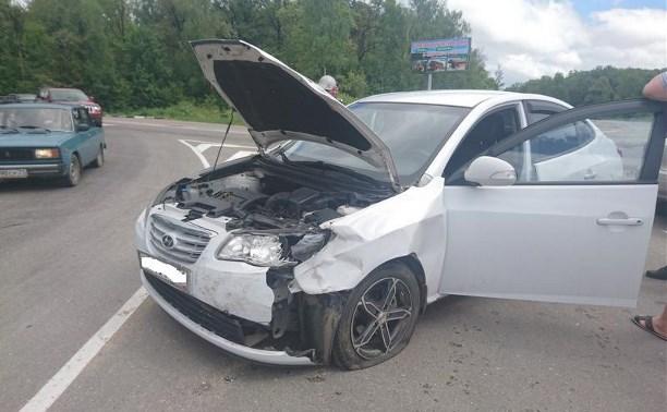 По вине невнимательного водителя пострадали двое детей