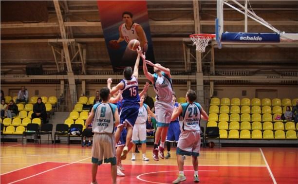 Тульские баскетболисты открыли новый сезон