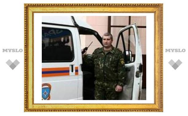Тульский майор МЧС спас деревню