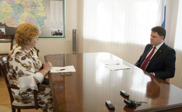 Владимир Груздев встретился с депутатом Госдумы Надеждой Шайденко