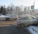 В Туле на проспекте Ленина «Шевроле» врезался в ВАЗ