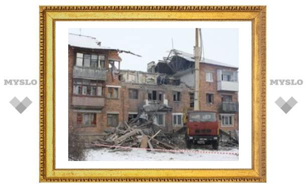 Туляков оставят жить в разрушенном доме