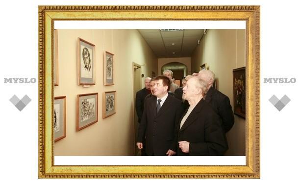 В Тульском УВД выставка картин