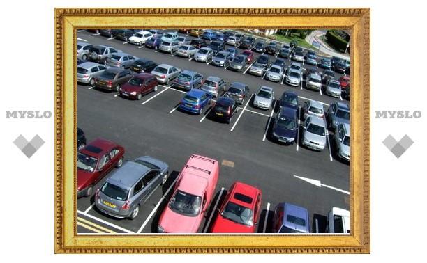 К лету в Туле появится 57 новых парковок
