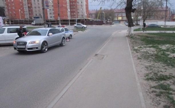 На ул. М. Горького водитель Audi сбил ребёнка