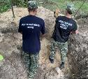 Под Тулой найдены останки расстрелянных фашистами в годы войны мирных жителей