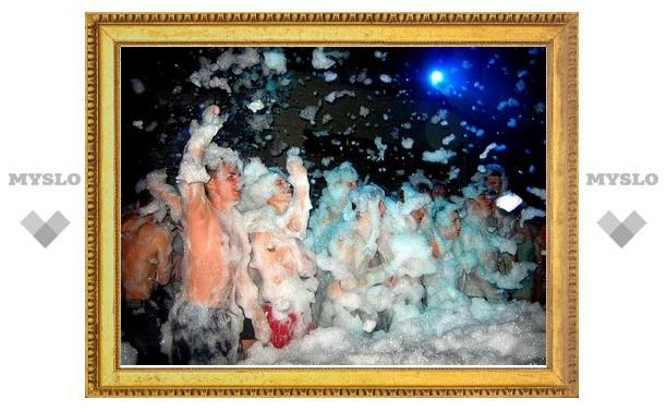 В Туле пройдет пенная вечеринка