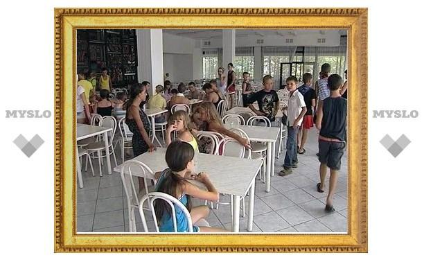 Дети из Тулы, отдыхающие в Туапсинском районе, находятся в безопасности