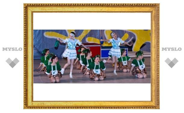 Тульские танцоры в десятке лучших!
