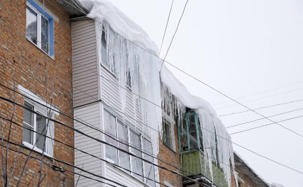 Кто должен сбивать сосульки с балконов туляков?