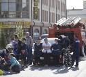 В связи с эвакуацией тульская полиция привлекает в город дополнительные силы