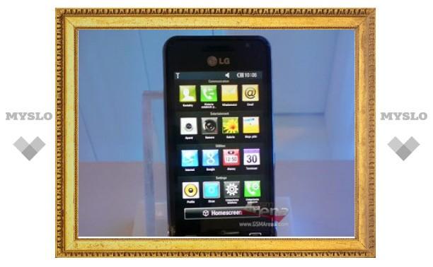 LG представила 12-мегапиксельный камерофон