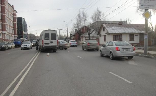 На проспекте Ленина женщина за рулём «Киа» сбила пешехода-нарушителя