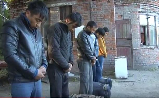 В Тульской области поймали нелегальных мигрантов из Средней Азии