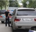 В центре Тулы задержан BMW X5 с крупной партией наркотиков