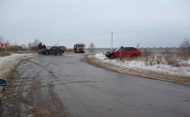В аварии в Новомосковске пострадал двухлетний ребенок