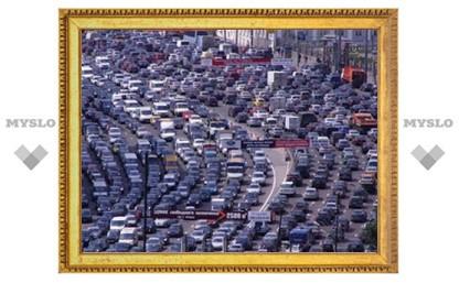 В Туле - пятничный транспортный коллапс