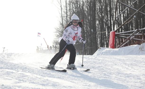 В Богородицке прошел чемпионат Тульской области по лыжным гонкам