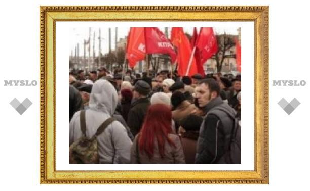 Тульских коммунистов притесняют?