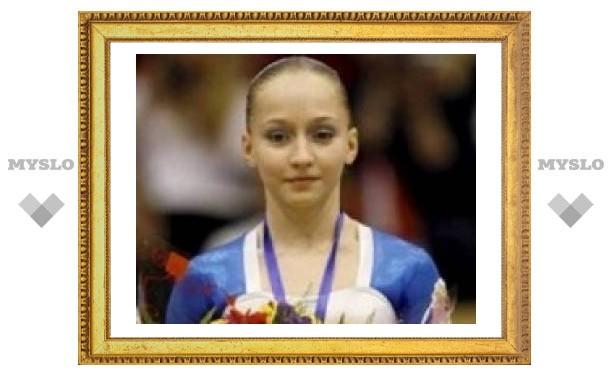 Тульская гимнастка снова на высоте