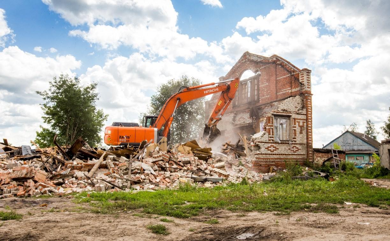Очередной этап сноса незаконных домов в Плеханово закончен