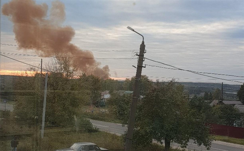 Туляки сообщили об очередном выбросе с Косогорского металлургического завода