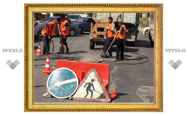 Работы по расширению улицы Рязанской велись неэффективно