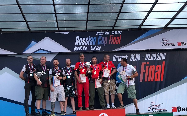 Туляк Сергей Конов стал обладателем Кубка России по практической стрельбе из ружья