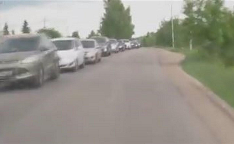 Туляк предложил установить светофор на Веневском шоссе