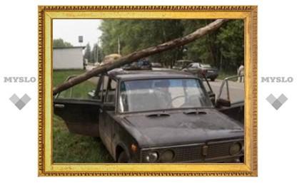 Под Тулой прошел ураган