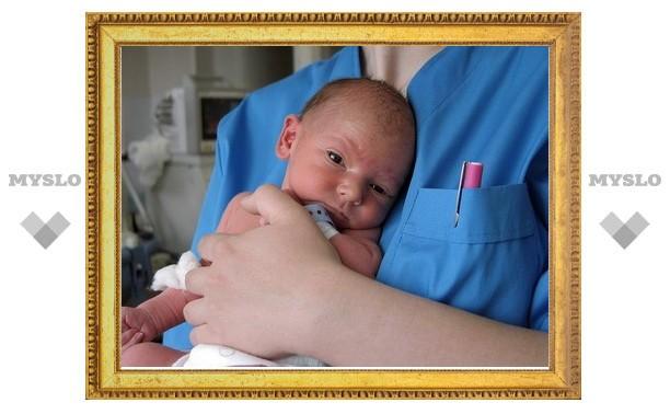 В Туле вырос уровень младенческой смертности