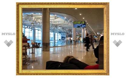 """Пассажиры, """"застрявшие"""" в аэропорту Домодедово, отказываются от посадки в самолет"""