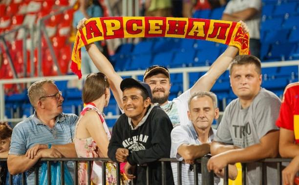 «Арсенал» обыграл ярославский «Шинник» со счётом 4:0