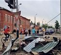 Смерч в Ефремове: обломки летали как пули!