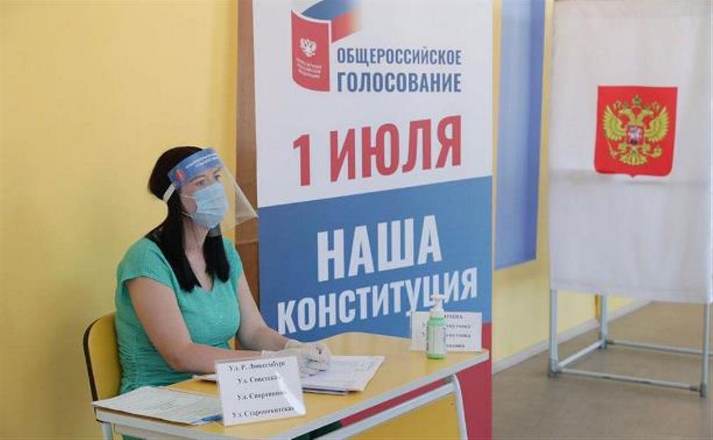 В Тульской области начался заключительный день голосования по поправкам в Конституцию