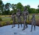 В Ефремове появилась скульптура «Многодетная семья»