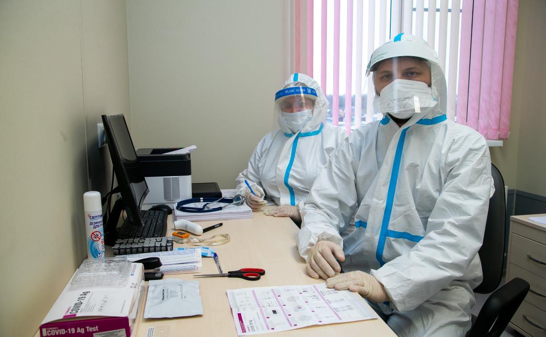 Коронавирусная статистика: за сутки в Тульской области выявили 160 случаев заболевания