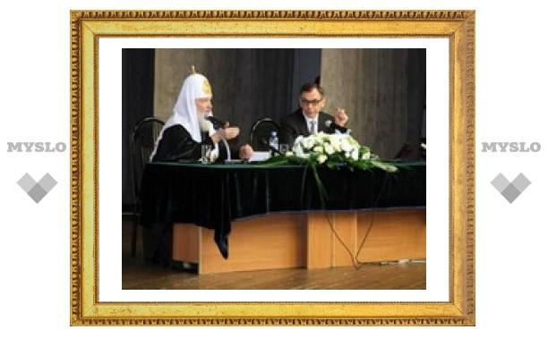 Патриарх Кирилл советует не смотреть сериалы