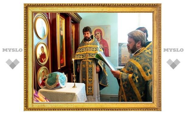 В роддоме освятили молитвенную комнату