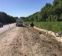 В Узловском районе опрокинулся автомобиль «Киа Рио»